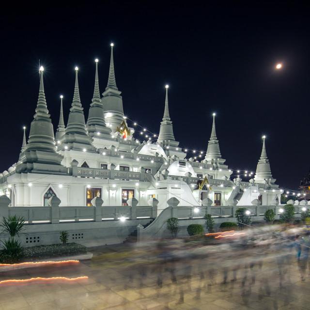 """Asokaram Temple, Thailand"" stock image"
