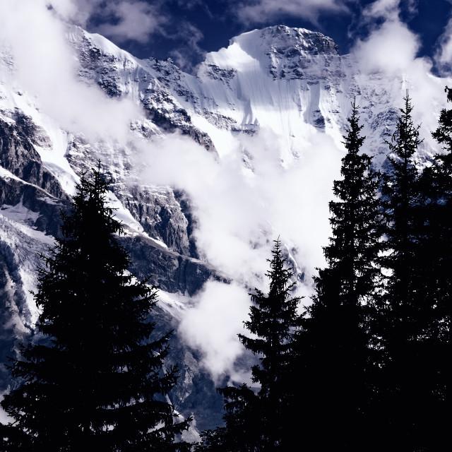 """Alpine Classic"" stock image"