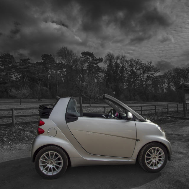 """Smart fortwo car"" stock image"