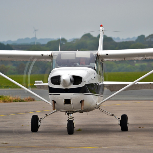 """Cessna 172 General Aviation"" stock image"