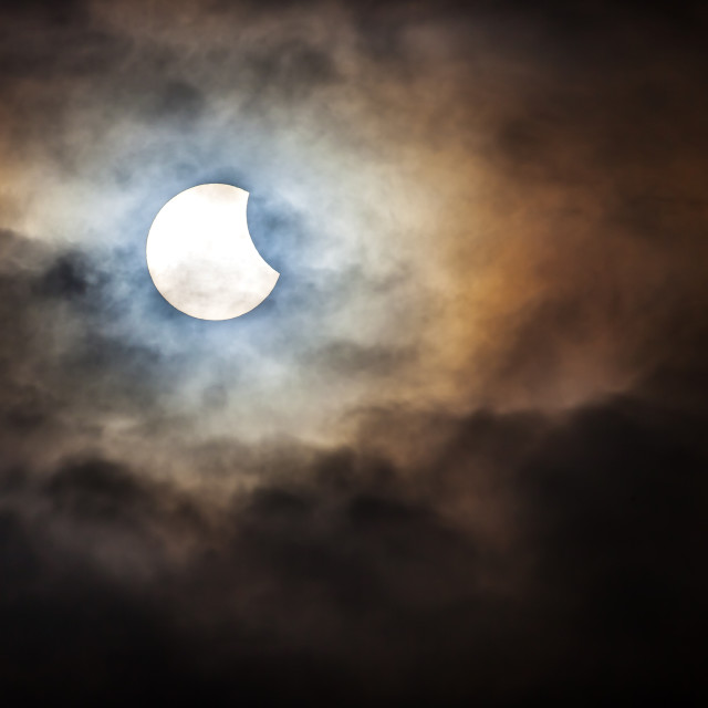 """Solar Eclipse"" stock image"