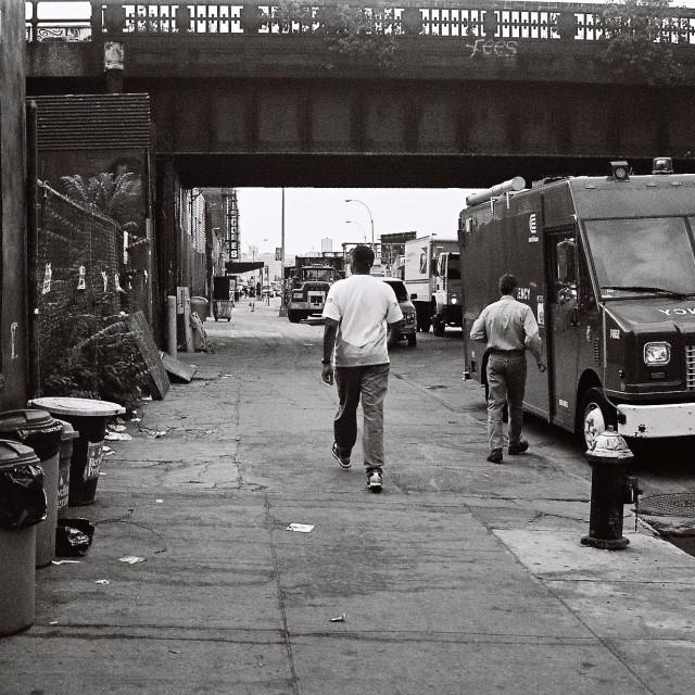 """New York Streets"" stock image"