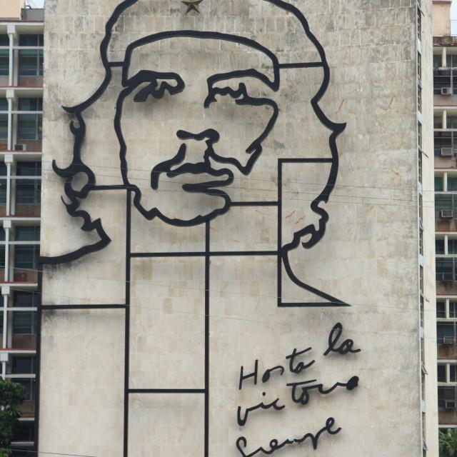 """Che Guevara monument in Havana, Cuba"" stock image"