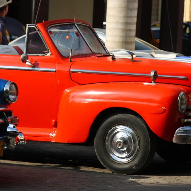 """Classic Cars, Havana"" stock image"