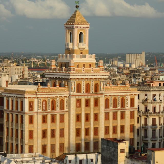 """""""Havana, Cuba Skyline"""" stock image"""
