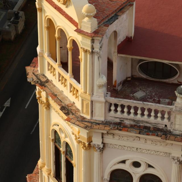 """Classic architecture in Havana, Cuba"" stock image"