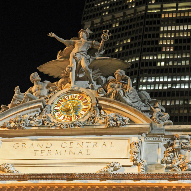 """""""Grand Central Terminal"""" stock image"""