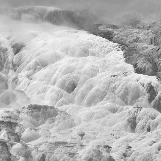 """Limestone Terraces"" stock image"