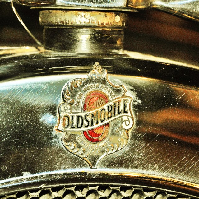 """Oldsmobile Badge"" stock image"