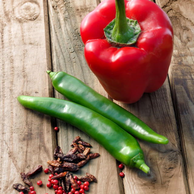 """peppers"" stock image"