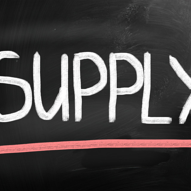 """""""supply chain related items concept"""" stock image"""