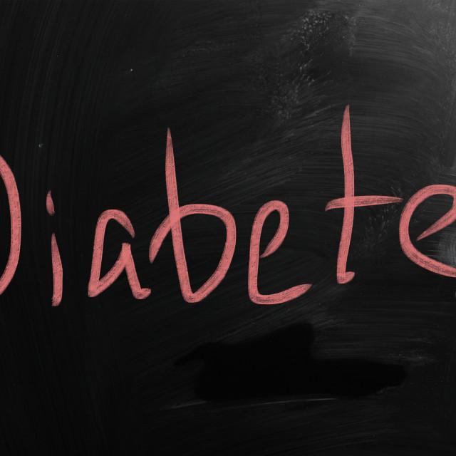 """Diabetes"" stock image"