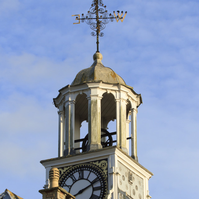 """Clock tower"" stock image"