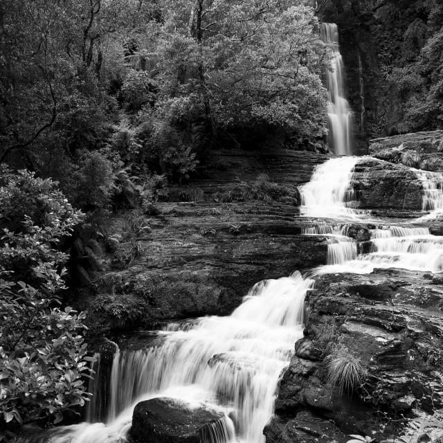 """The McLean Falls"" stock image"