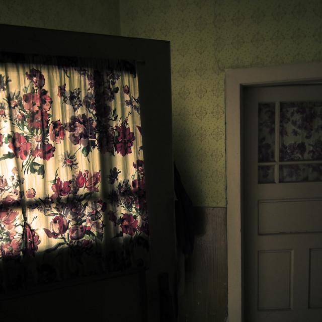 """Light Through The Doors"" stock image"