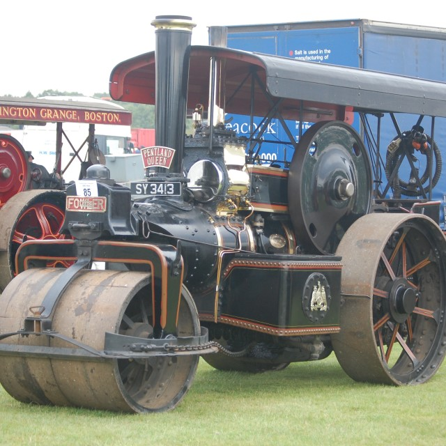 """""""Traction engines"""" stock image"""