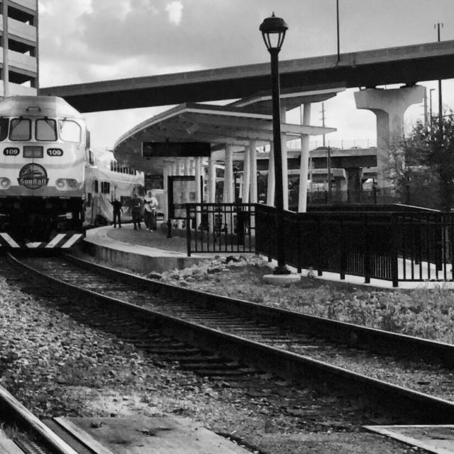 """Orlando Urban Rail"" stock image"
