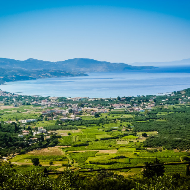 """Alykanas Bay"" stock image"