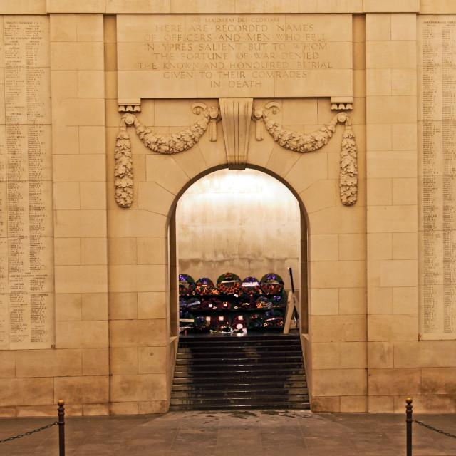 """Belgium - Ypres"" stock image"
