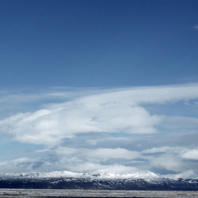 """cloud mountain"" stock image"