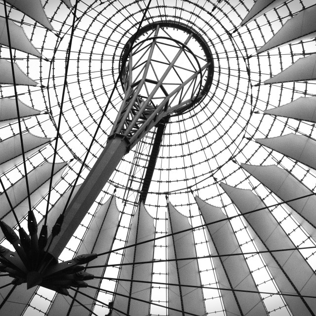 """Sony Center, Berlin"" stock image"