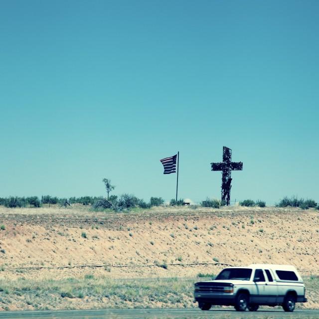 """Cross Road"" stock image"