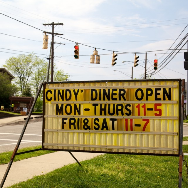 """Cindy Diner Open"" stock image"