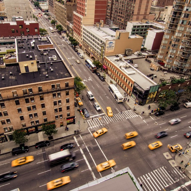 """Junction in New York"" stock image"