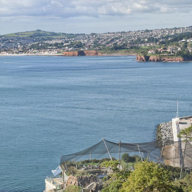 """Living Coasts - Torquay"" stock image"