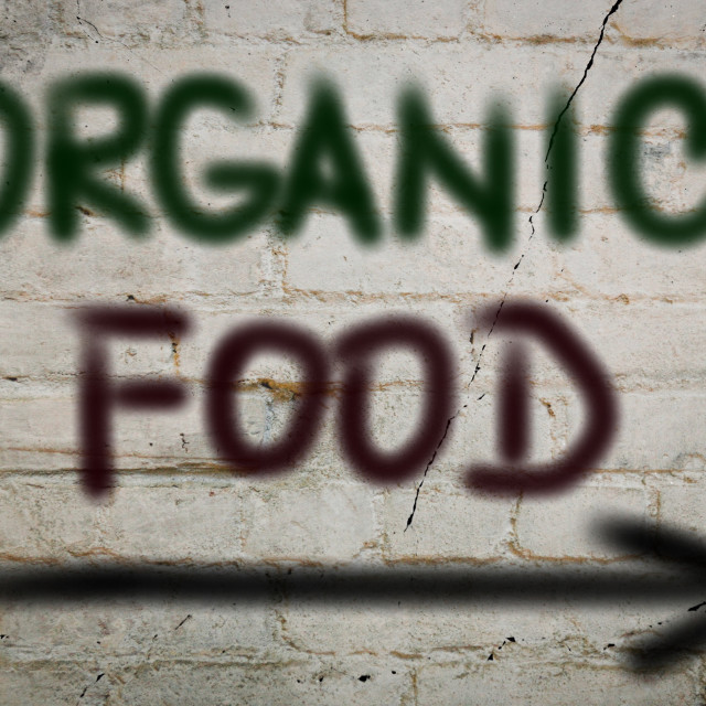 """Organic Food Concept"" stock image"