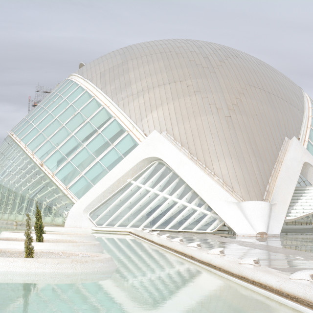 """City of Arts and Sciences, Valencia"" stock image"