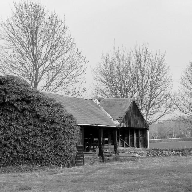 """wickham barn"" stock image"
