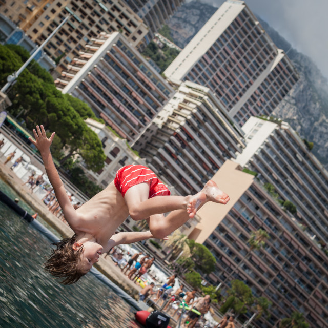 """Monte Carlo Flip"" stock image"