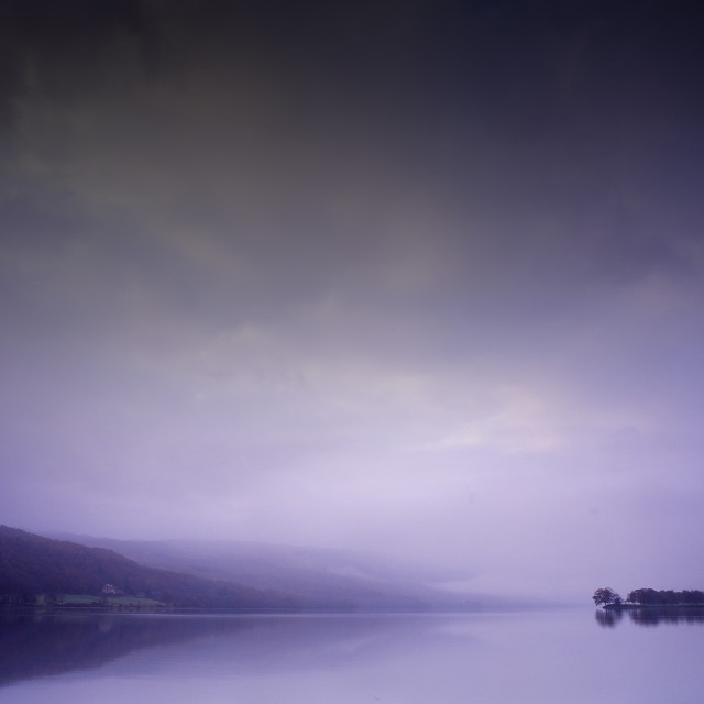 """Lake Coniston"" stock image"