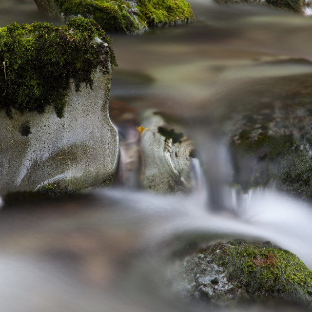 """Blurred water"" stock image"
