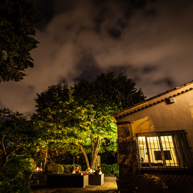 """In The Night Garden"" stock image"