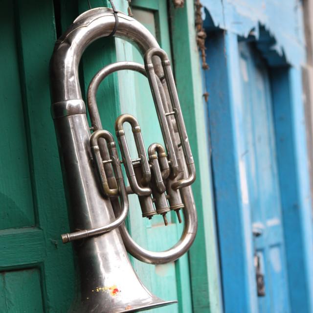 """Tuba"" stock image"