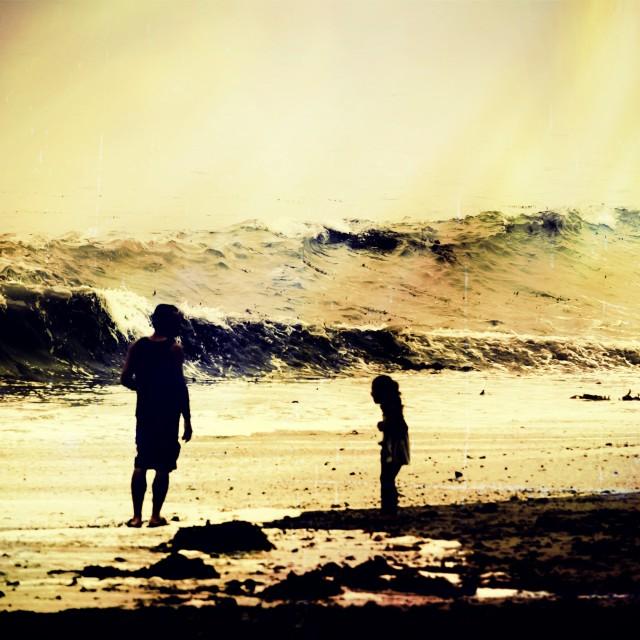 """""""Beach Fun"""" stock image"""