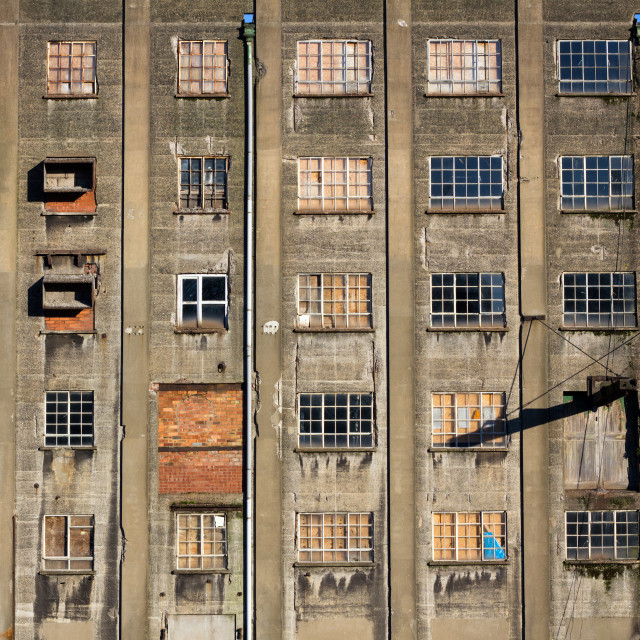 """Bristol docks warehouse"" stock image"