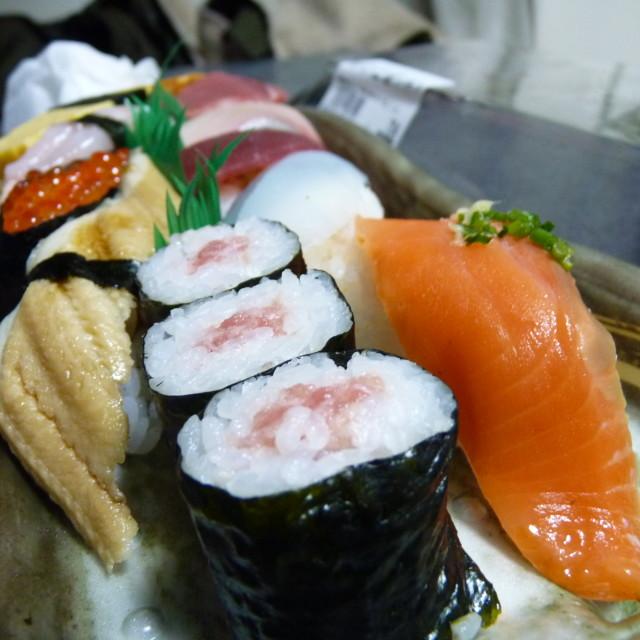 """""""Sushi time"""" stock image"""