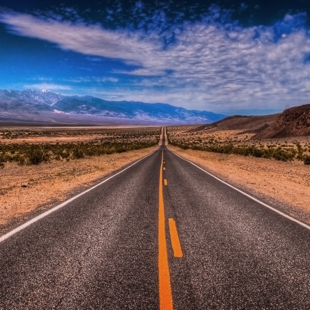"""""""Death Valley (HDR)"""" stock image"""