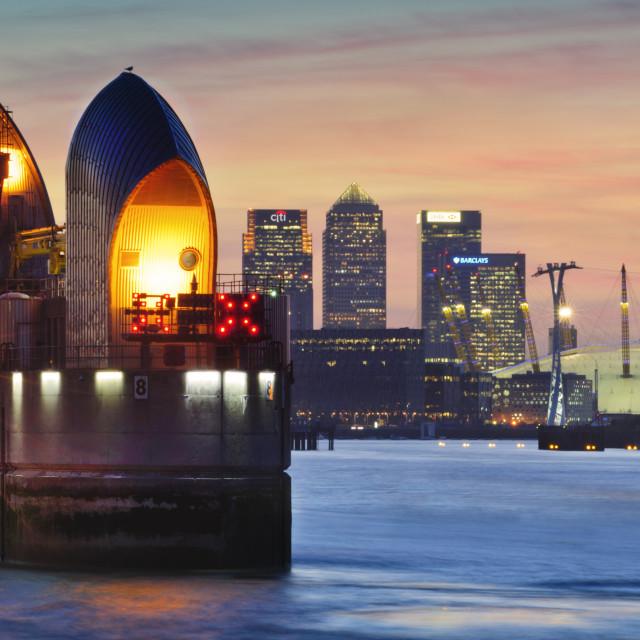 """London Upriver"" stock image"