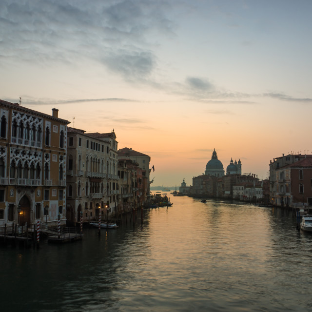 """""""Grand Canal Venice"""" stock image"""