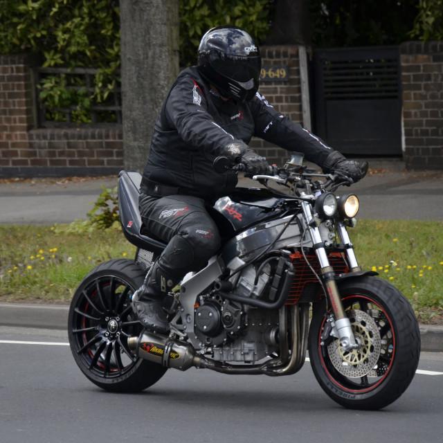 """Honda Fireblade Streetfighter"" stock image"