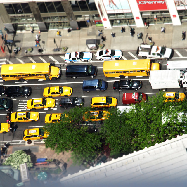 """""""New York Toy Town"""" stock image"""