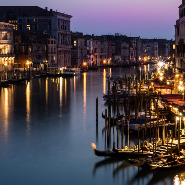 """Venetian Nights"" stock image"