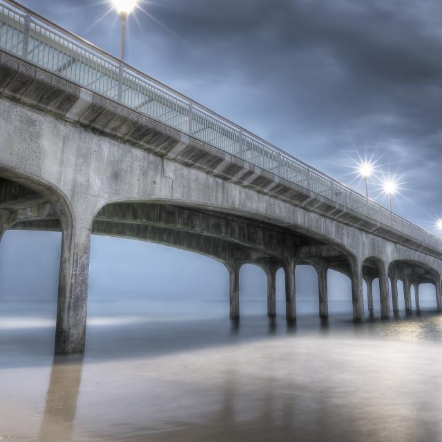 """""""Boscombe Pier"""" stock image"""