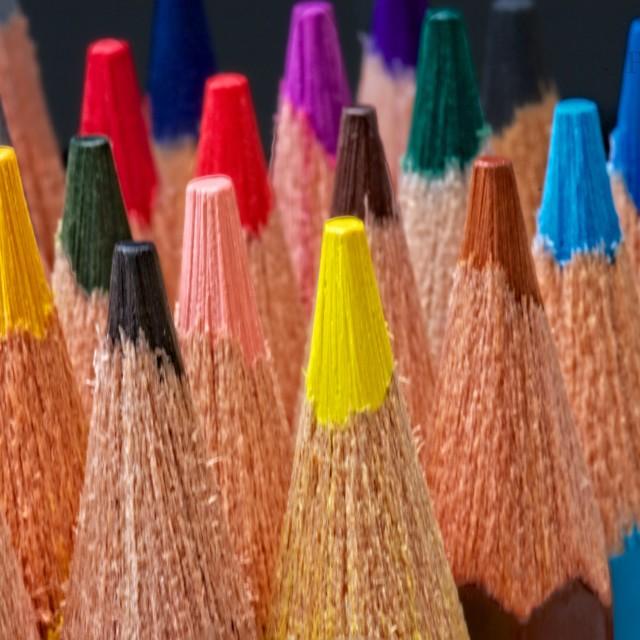 """""""Colour pencils"""" stock image"""