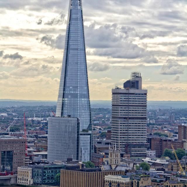 """London Shard"" stock image"