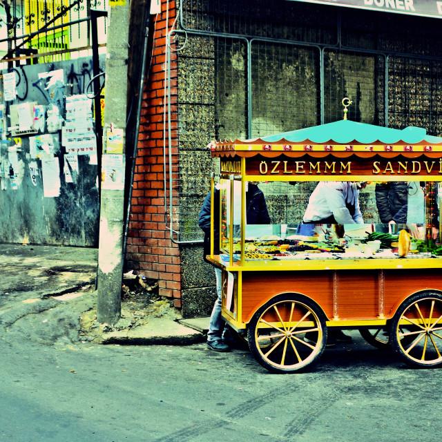 """""""Turkish street food"""" stock image"""